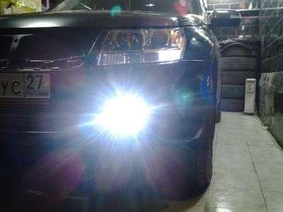 Необычная замена ламп в фарах на Suzuki Grand Vitara