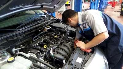 фото ремонт машины