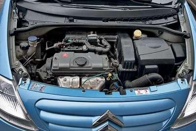 Двигатель и коробка передач