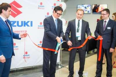Интервью с представителями Suzuki