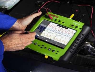Компьютерная диагностика тормозов у машины Сузуки