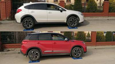 Vitara S и Subaru XV