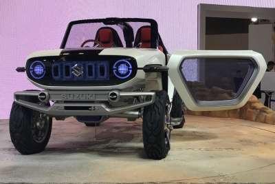 Городское багги. Новый внедорожник с электромотором от Suzuki
